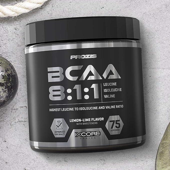 Xcore BCAA Suplemento en Polvo 300g - Ratio 8:1:1: Fórmula Premium de Aminoácidos para el Crecimiento de Músculo y una Máxima Fuerza y Absorción - Con ...