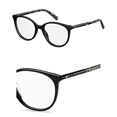 fb7c2d67896 Image Unavailable. Image not available for. Color  Eyeglasses Max Mara Mm  1312 01EO Gdblutext