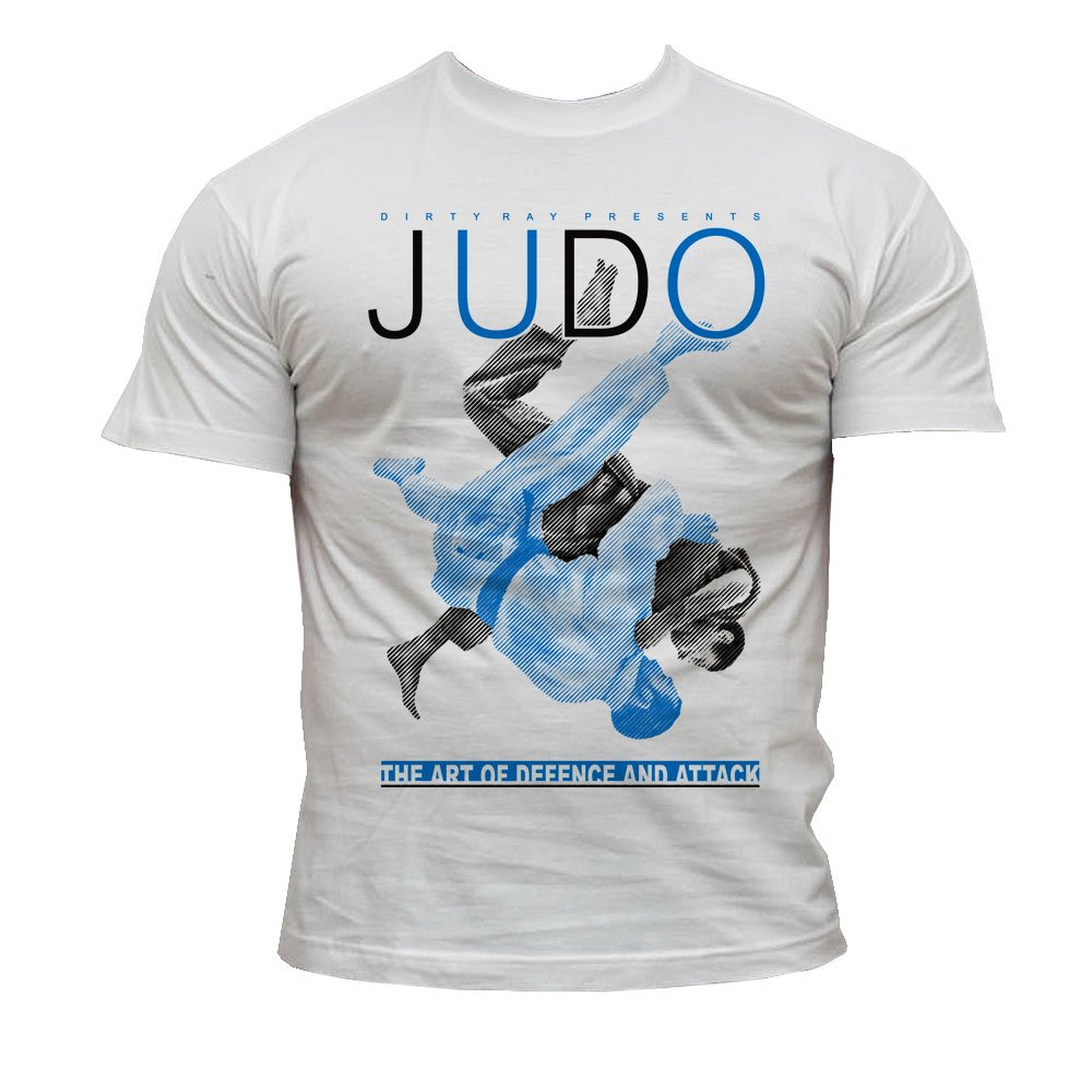Dirty Ray Arts Martiaux Judo t-shirt homme K20