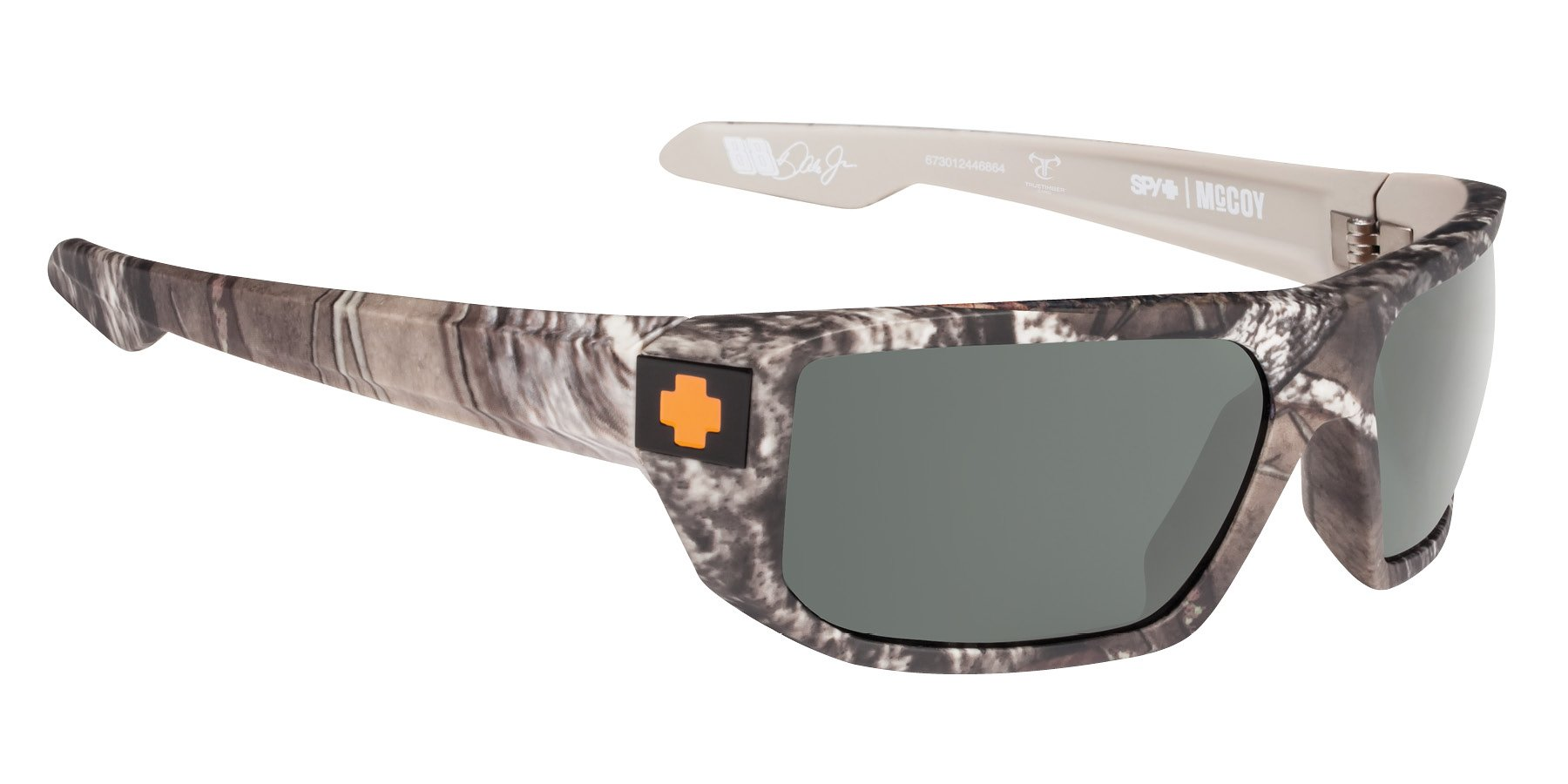Spy Optic Men's Mccoy Shield Sunglasses True Timber/Happy Gray/Green Polar 63 mm