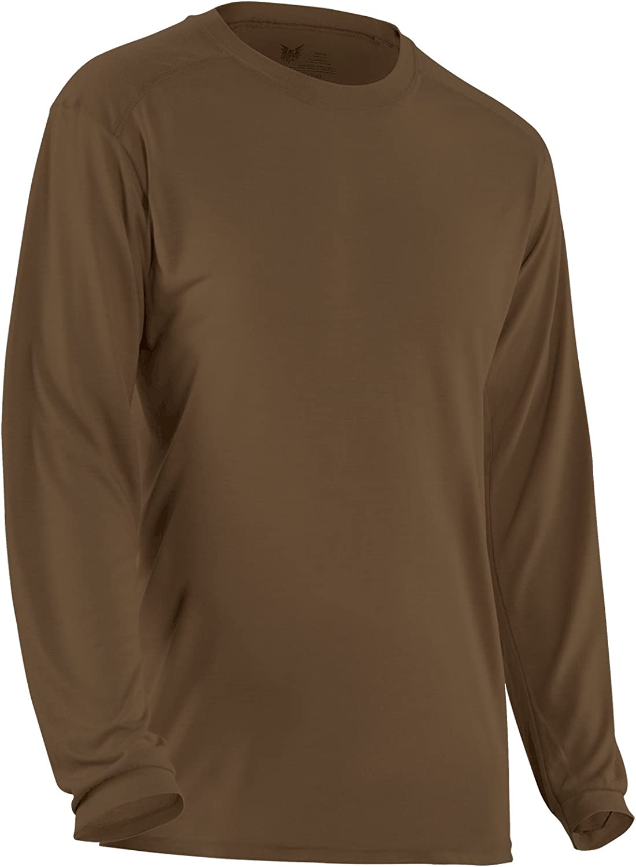 DRIFIRE High Performance Flame Resistant Military Ultra-Lightweight Base Layer Long Sleeve Shirt 4.5 oz.