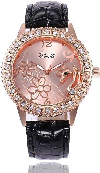 Reloj de Regalo de Gama Alta con Diamantes de imitación, Cisne ...