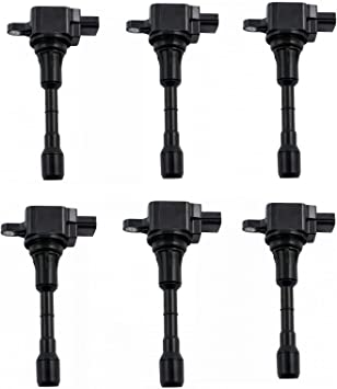 6PC IGNITION COIL for NISSAN MURANO 3.5L V6 2009 2010 2011 2012 2013 2014 UF550