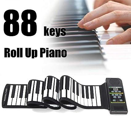 YUSDP Piano Roll Up de 88 Teclas actualizado, Teclado de ...