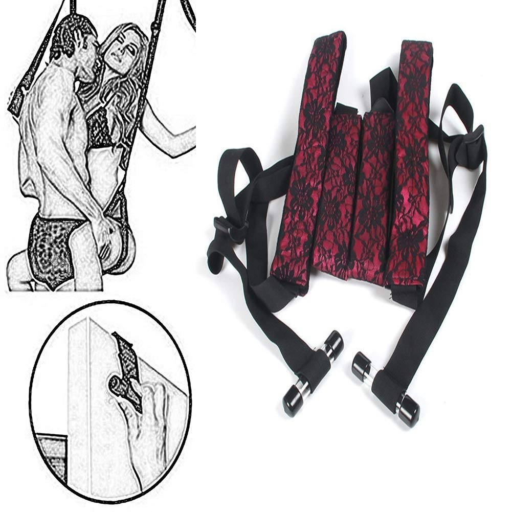 Zhangjianyao1018 Adult Couples/Lovers Door Hanging Sêx Swing Chair Sling Swing- Couple Flirting Toys Feel The Truth Very Useful zhangjianyao1018 by Zhangjianyao1018