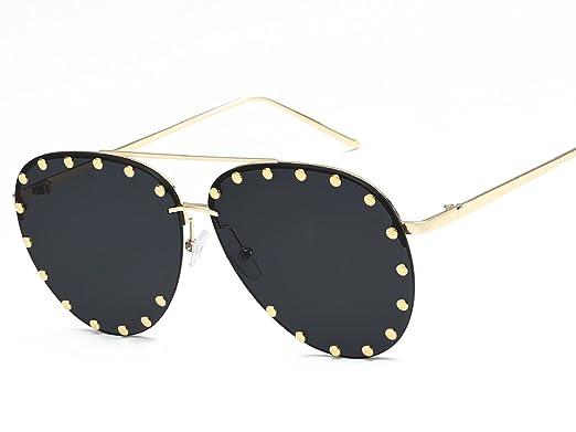 Amazon.com: Gafas de sol de metal de alta definición con ...