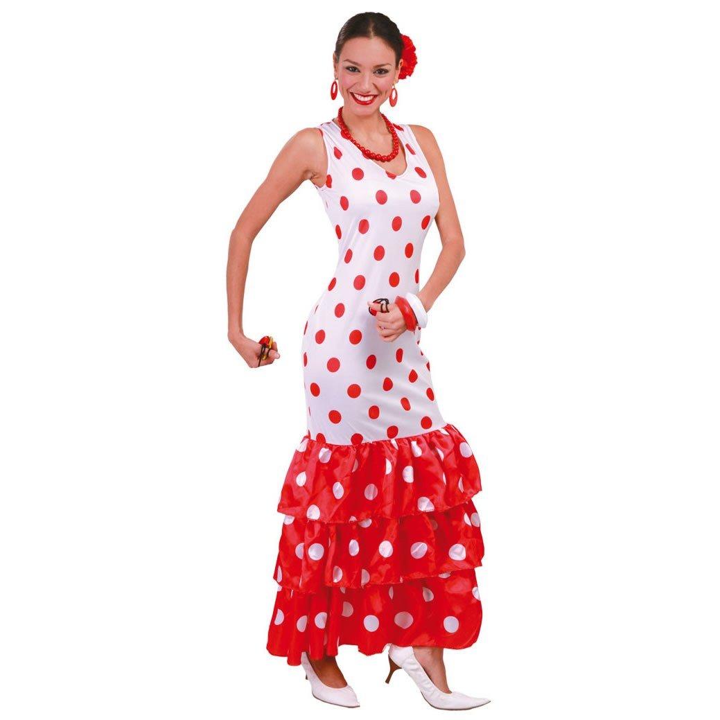 Disfraz de andaluza blanca: Amazon.es: Juguetes y juegos