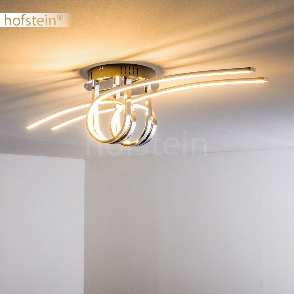 Fantastisch Wunderbar LED Deckenleuchte Casale 4 Flammig Mit Gedrehten Lichtleisten  U2013 Extravagante Zimmerlampe Für Wohnzimmer U2013 Deckenlampe