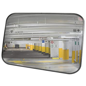 BEOBACHTUNGSSPIEGEL Verkehrsspiegel Überwachungsspiegel Spiegel 60 x 40 cm