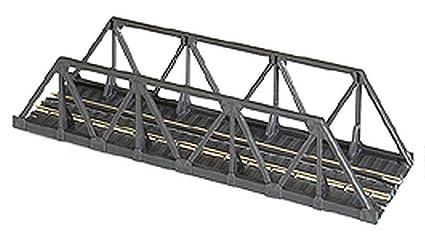 amazon com code 100 nickel silver warren truss bridge kit ho scale
