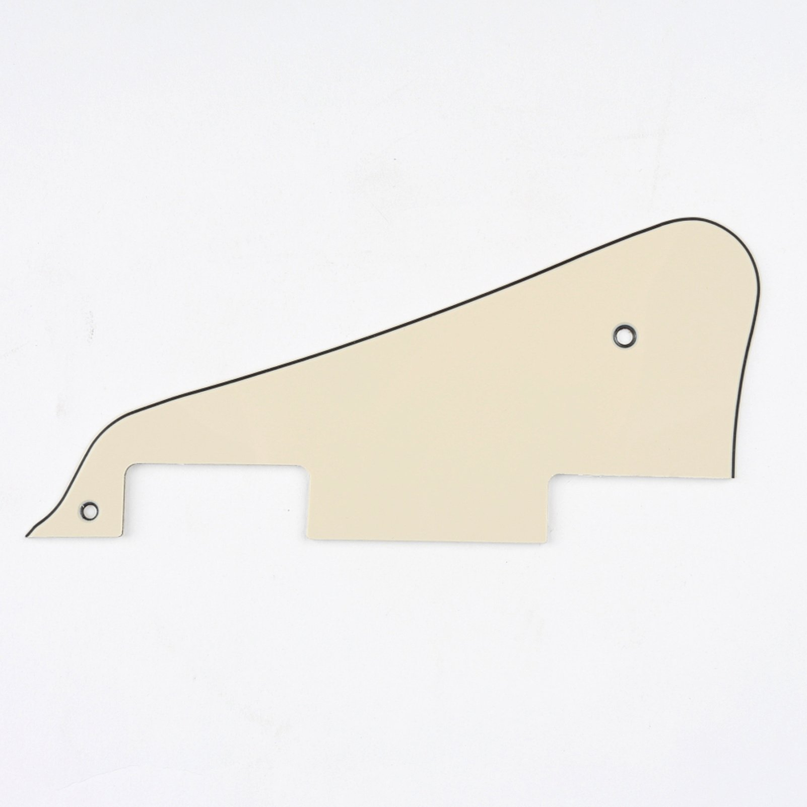 1Ply Cream Musiclily Pro Plastic Guitar Pickguard for 2006-Present Modern Style Epiphone Les Paul