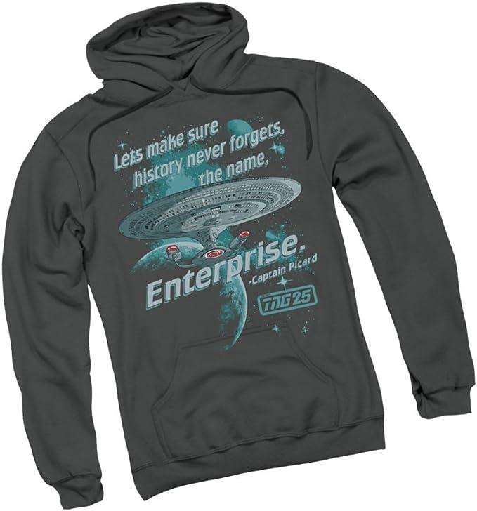 Star Trek Next Generation TV Series Distressed Tng Adult Crewneck Sweatshirt