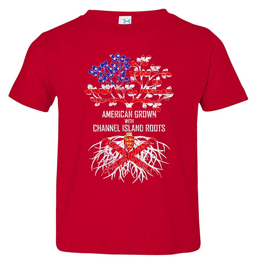 Tenacitee Babys American Grown with Channel Island Roots Shirt