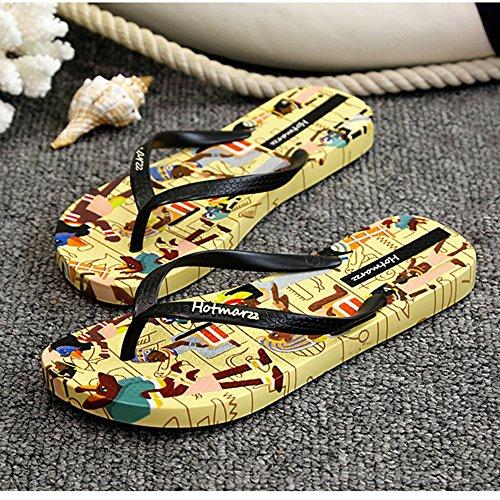 Calzature femminili da Sandali da Turismo esterne estivi antiscivolo bagno piatti spiaggia 0pZUnXZ