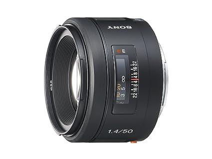 96b852adbf695 Amazon.com   Sony 50mm f 1.4 Lens for Sony Alpha Digital SLR Camera ...