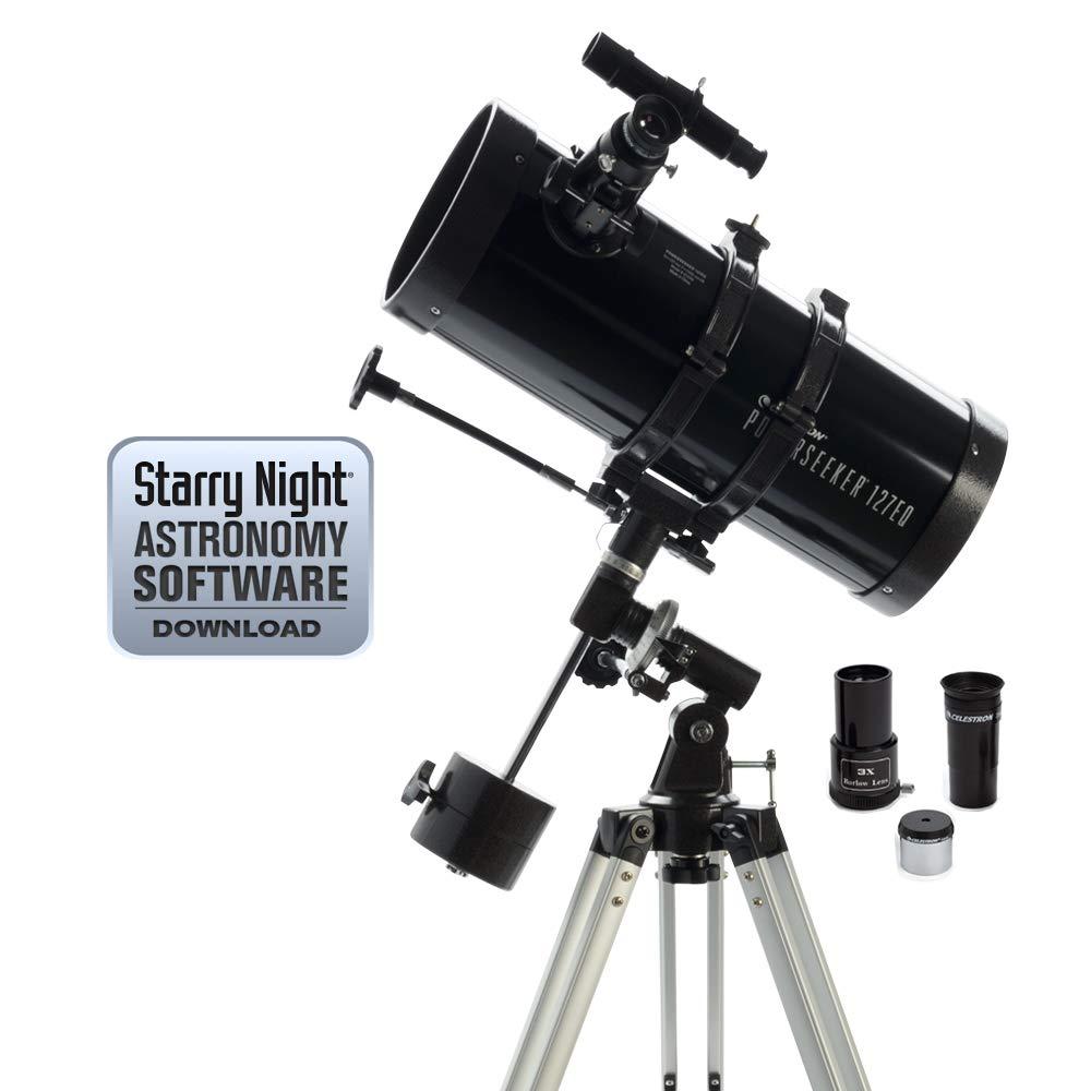 品質が完璧 Celestron Powerseeker Powerseeker Reflector 127EQ 127EQ Reflector Telescope B0007UQNKY, ソエガミグン:ff7643a2 --- arianechie.dominiotemporario.com