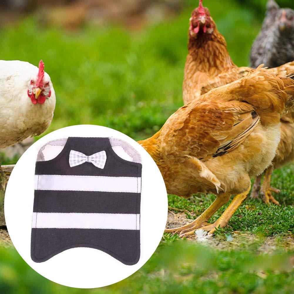 Chirsemey - Arnés para pollos de sillín para zorros de pollo ...