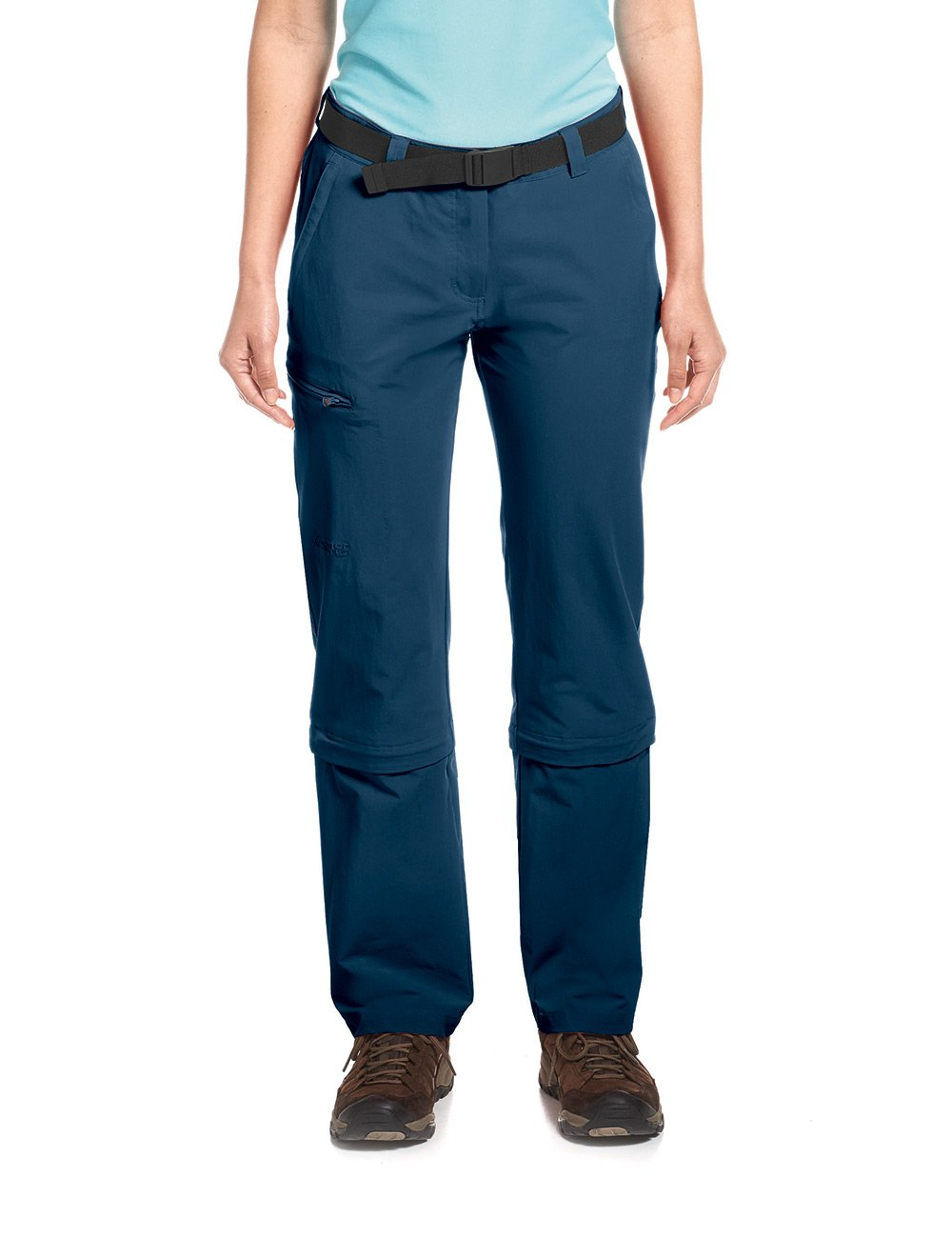 Bleu - Aviator Longueur   75 cm Maier Sports Arolla Pantalon pour Femme Zip-Off