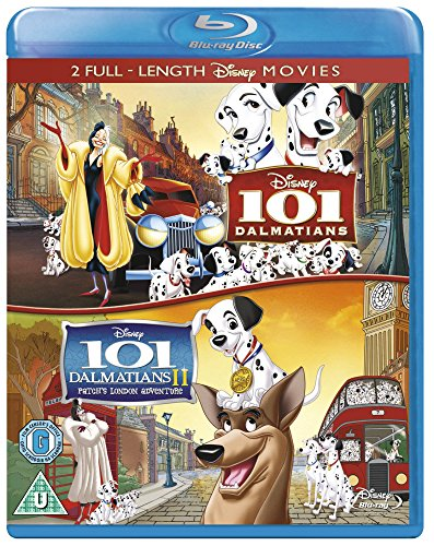 101 Dalmatians / 101 Dalmatians II: Patch's London Adventure [Region Free] ()