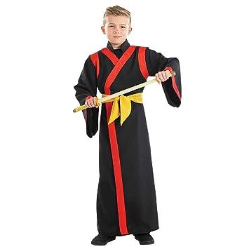 Fun Shack Negro Samurái Disfraz para Niños - XL: Amazon.es ...