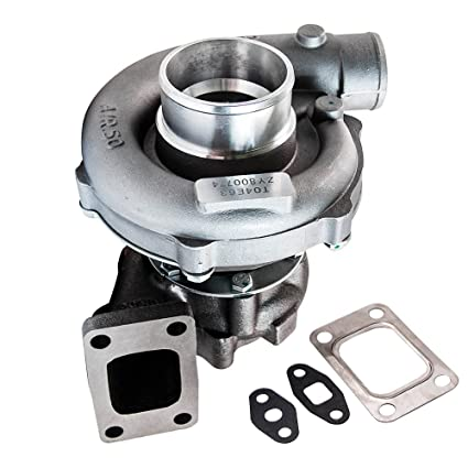 Amazon.com: maXpeedingrods T3 T4 T3/T4 T04E Turbo Charger 0.63 A/R 55 Trim 5-Bolt Downpipe T3T4 Turbocharger Oil Cooled 300+HP: Automotive