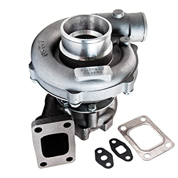 Amazon.com: T04E T3/T4 .63 A/R 57 Trim Universal Turbocharger Compressor 400+HP Boost Stage 3 Turbo: Automotive