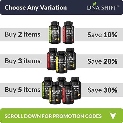 Amazon.com: DNA Shift® Los mejores probióticos para mujeres ...