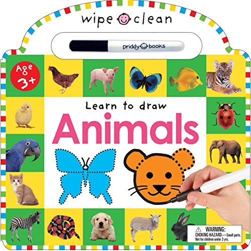 Wipe Clean: Animals (Wipe Clean Learning Books)