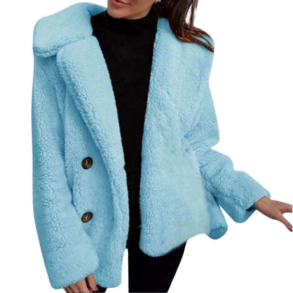 人気デザイナー Seaintheson Women's Coats レディース OUTERWEAR レディース Women's Coats B07HQC633L Medium|ブルー-2 ブルー-2 Medium, 限定価格セール!:c6bceb89 --- beyonddefeat.com