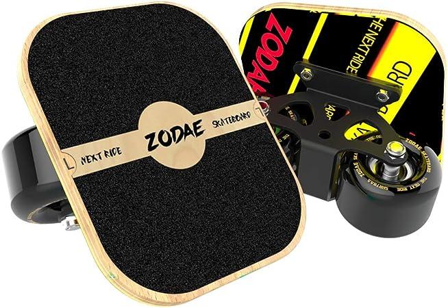 3Color Portable Drift Board,Portable Roller Road Drift Board Skates Anti-slip Plate Aluminum Truck Free Skates Beginner Roller Road Drift Board Portable Small Skateboard with High-end Bearing