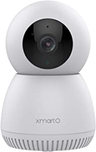 XMARTO 2K Security Camera Indoor Wireless WiFi Pan Tilt Zoom Camera with Auto Tracking,IP Camera with 2-Way Audio, Night Vision Motion Detection MSG, Works with iOS/Android Apps and NVRs (DPI2024)