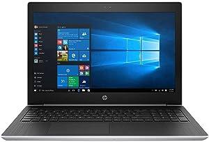 "2019 HP ProBook 15.6"" FHD Business Laptop Computer, 8th Gen Intel Quad-Core i5-8250U up to 3.4GHz (Beat i7-7500U), 8GB DDR4 RAM, 512GB SSD, USB 3.0, HDMI, AC WiFi, Windows 10 Professional"