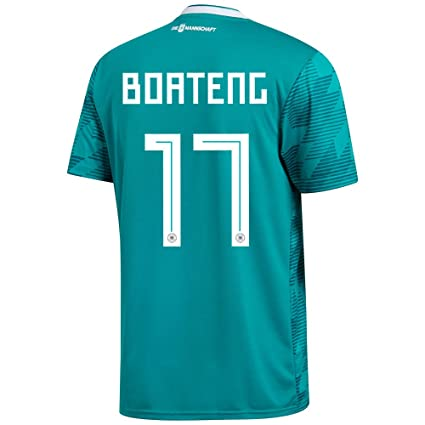 98781afcb FanSport24 Authentic soccer DFB Away Shirt World Cup 2018 Germany jersey  Away Children Boateng 17 Gr