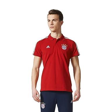 adidas FCB 3s Polo, Hombre: Amazon.es: Deportes y aire libre
