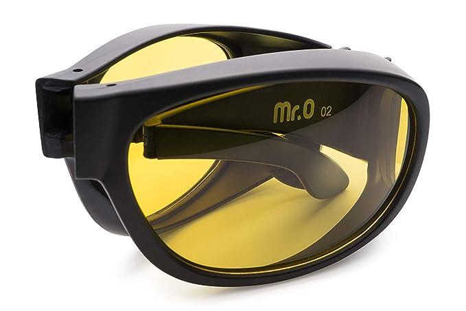 Amazon.com: Mr.O Gafas de conducción nocturna plegables ...