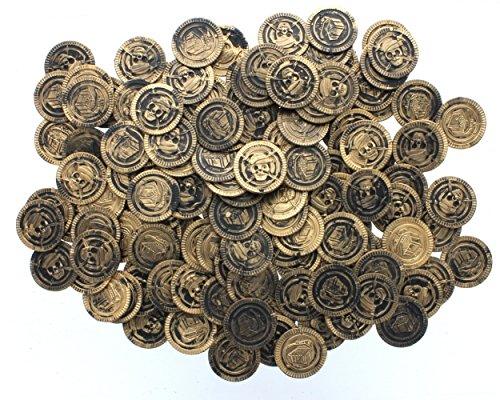 Fun Express Plastic Pirate Coins