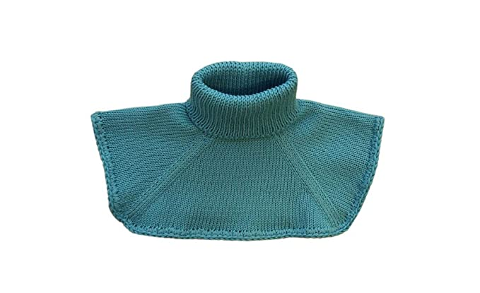 100 Merino Wool Adult Women Men Neck Warmer Scarf Chemisette