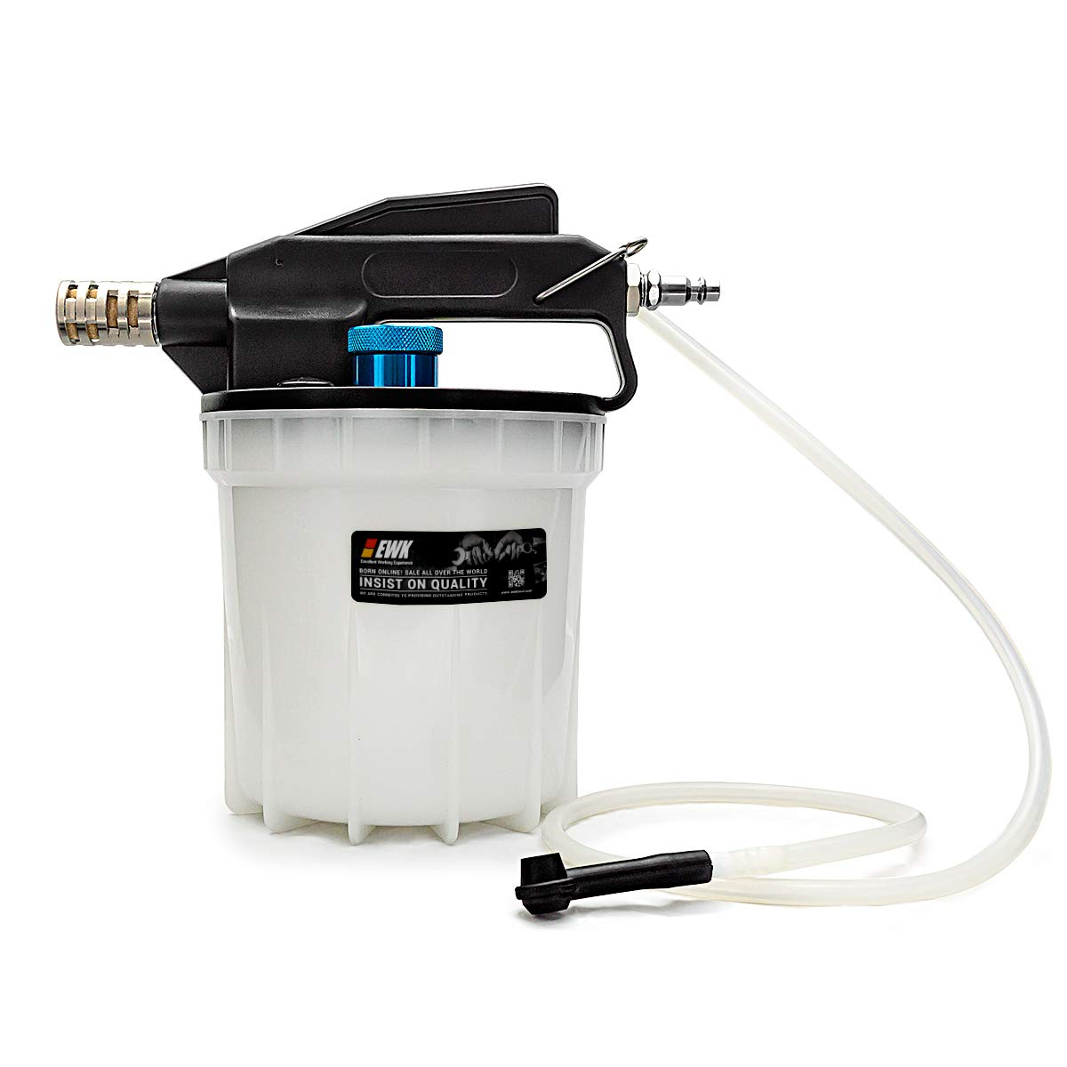 EWK 2 Liter Pneumatic Vacuum Brake Bleeder Oil Fluid Extractor Pump