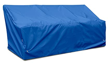 KOVERROOS Weathermax 06450 Deep 3-Seat Glider/Lounge Cover, 89-inch Width by 36-inch Diameter by 33-inch Height, Pacific Blue