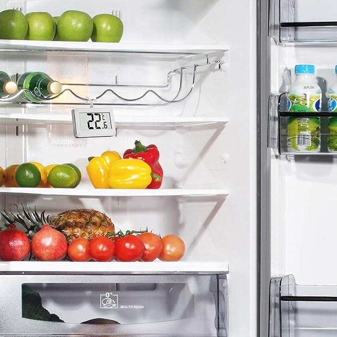 Henweit 2-Pack impermeable termómetro digitale para Refrigerador ...