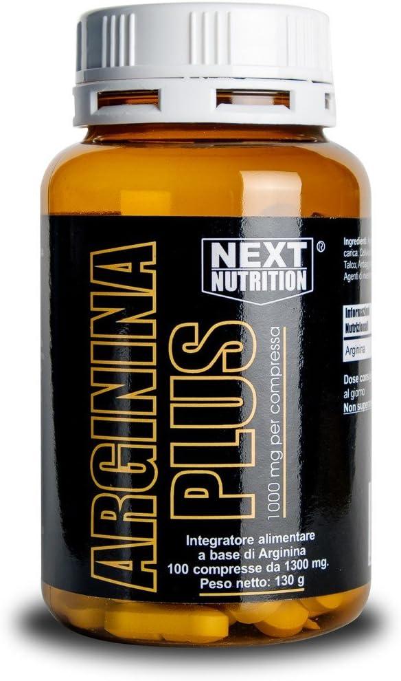 Arginina 1000 mg 100 tabletas 1000 mg por comprimido Aminoácido esencial Aumenta el crecimiento muscular y la fuerza óxido nítrico   Promueve la ...
