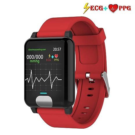 armo Pulsera Actividad,ECG +PPG Pulsera Inteligente con Pulsómetro Pulsera Deportiva y Monitor de Ritmo Cardíaco Monitor de Actividad Impermeable IP67 ...