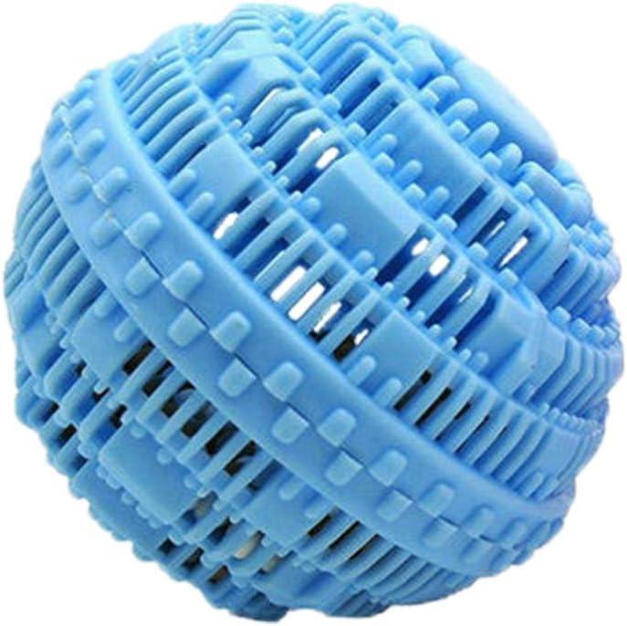 Cabilock Bolas de Lavado de Ropa Bolas Anti Máquina de Bobinado Bolas de Máquina Reutilizables para Limpiar Ropa (Azul)