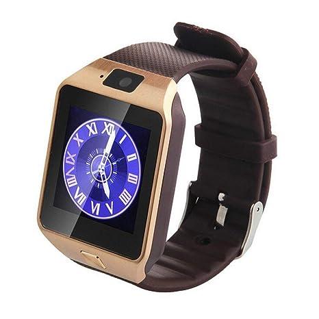 JesseBro76 Smart Watch Dz09 Gold Silver Smartwatch For iOS ...