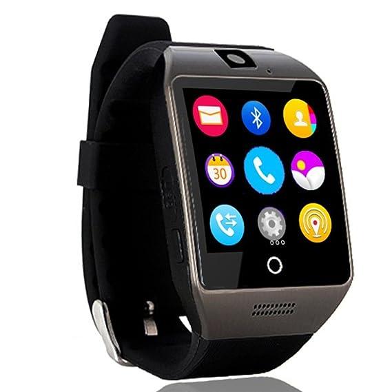 Amazon.com: Bluetooth Smart Watch Q18 Clock SIM/TF for ...