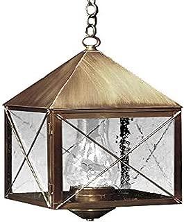 product image for Brass Traditions 512 SXVG Large Hanging Lantern 500 Series, Verde green Finish 500 Series Hanging Lantern