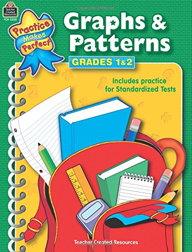 Graphs & Patterns Grades 1-2 (Practice Makes Perfect (Teacher Created Materials))