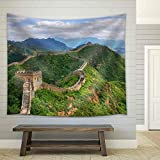 wall26 - Beijing Great Wall of China - Fabric Wall Tapestry Home Decor - 51x60 inches