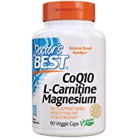 Doctor's Best Coq10/l-Carnitine/Magnesium Unique Blend, Supports Energy, Muscle...