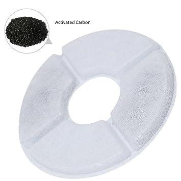 Zantec Filtro a carbón activo del filtro de perro automático del gato de estilo la botella del filtro Dalla máquina de beber del animal doméstico: ...